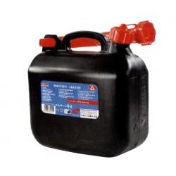 Kanystr na pohonné hmoty 5 l, plast
