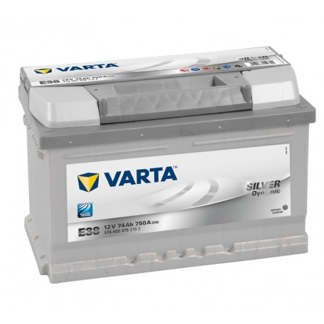 Startovací baterie Varta SILVER dynamic 74 Ah