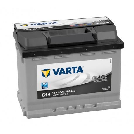 Startovací baterie Varta BLACK dynamic 56 Ah