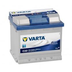 Startovací baterie Varta BLUE dynamic 52 Ah